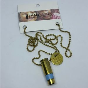 Half United The Jude Gold Necklace -Fight Hunger